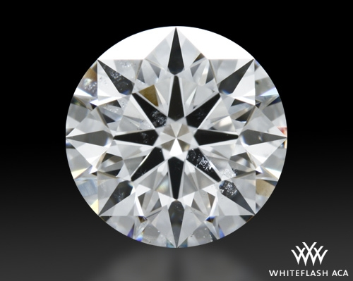 1.216 ct G SI2 A CUT ABOVE® Hearts and Arrows Super Ideal Round Cut Loose Diamond