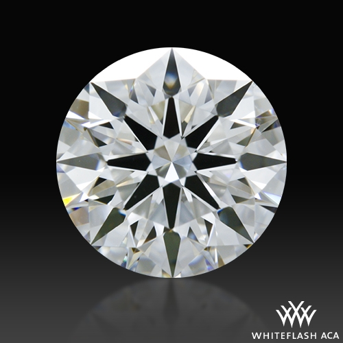 1.261 ct E VS1 A CUT ABOVE® Hearts and Arrows Super Ideal Round Cut Loose Diamond