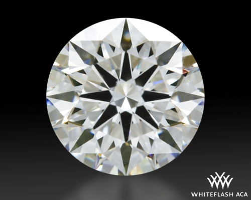 0.825 ct F VS1 A CUT ABOVE® Hearts and Arrows Super Ideal Round Cut Loose Diamond