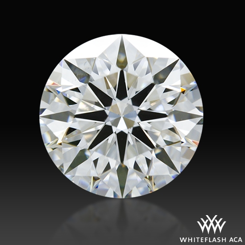 1.30 ct F VS2 A CUT ABOVE® Hearts and Arrows Super Ideal Round Cut Loose Diamond