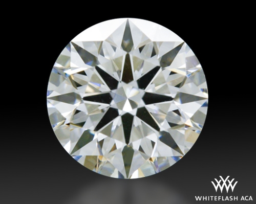 0.806 ct F VVS2 A CUT ABOVE® Hearts and Arrows Super Ideal Round Cut Loose Diamond
