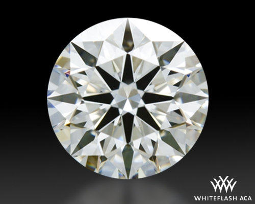 0.555 ct H VVS2 A CUT ABOVE® Hearts and Arrows Super Ideal Round Cut Loose Diamond