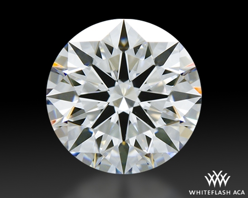 0.916 ct D VVS1 A CUT ABOVE® Hearts and Arrows Super Ideal Round Cut Loose Diamond