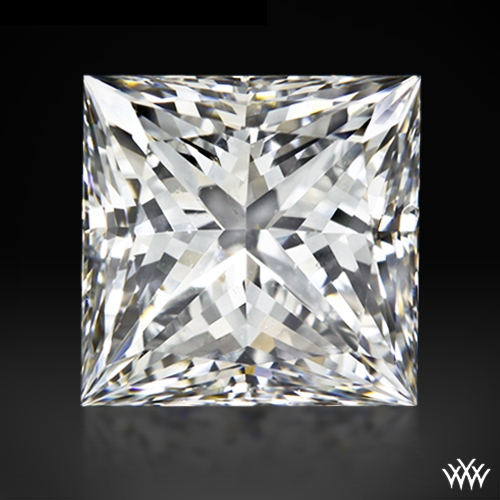 1.085 ct G VS2 A CUT ABOVE® Princess Super Ideal Cut Diamond