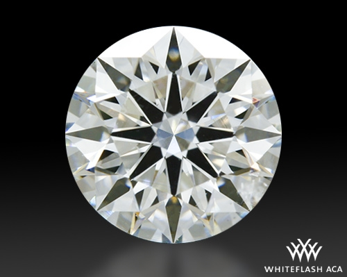 1.027 ct J VS1 A CUT ABOVE® Hearts and Arrows Super Ideal Round Cut Loose Diamond