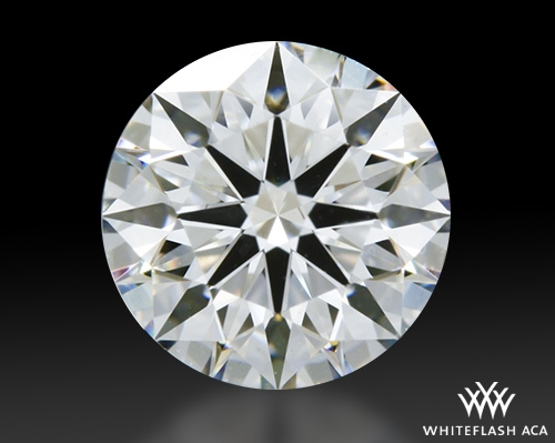 0.712 ct F VS2 A CUT ABOVE® Hearts and Arrows Super Ideal Round Cut Loose Diamond