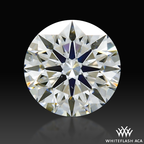 0.312 ct G VS2 A CUT ABOVE® Hearts and Arrows Super Ideal Round Cut Loose Diamond