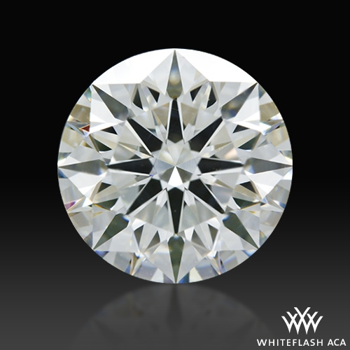 1.712 ct J SI1 A CUT ABOVE® Hearts and Arrows Super Ideal Round Cut Loose Diamond
