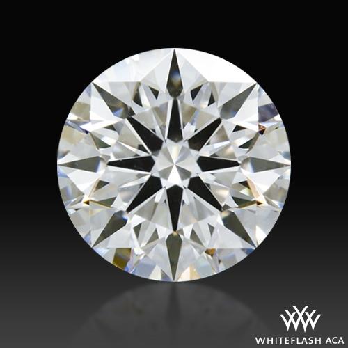0.772 ct E VVS2 A CUT ABOVE® Hearts and Arrows Super Ideal Round Cut Loose Diamond
