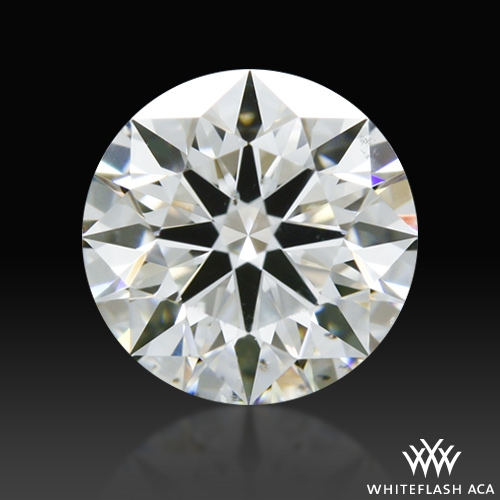 0.618 ct G SI1 A CUT ABOVE® Hearts and Arrows Super Ideal Round Cut Loose Diamond