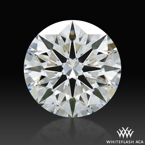 1.132 ct G VS2 A CUT ABOVE® Hearts and Arrows Super Ideal Round Cut Loose Diamond