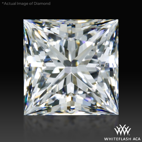 0.662 ct F VS1 A CUT ABOVE® Princess Super Ideal Cut Diamond