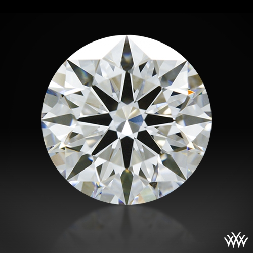 1.116 ct D VS1 A CUT ABOVE® Hearts and Arrows Super Ideal Round Cut Loose Diamond