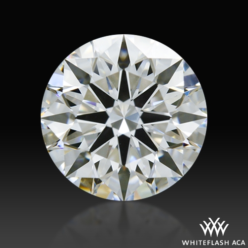 0.716 ct D VS1 A CUT ABOVE® Hearts and Arrows Super Ideal Round Cut Loose Diamond