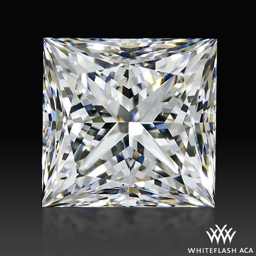 1.14 ct H VS2 A CUT ABOVE® Princess Super Ideal Cut Diamond