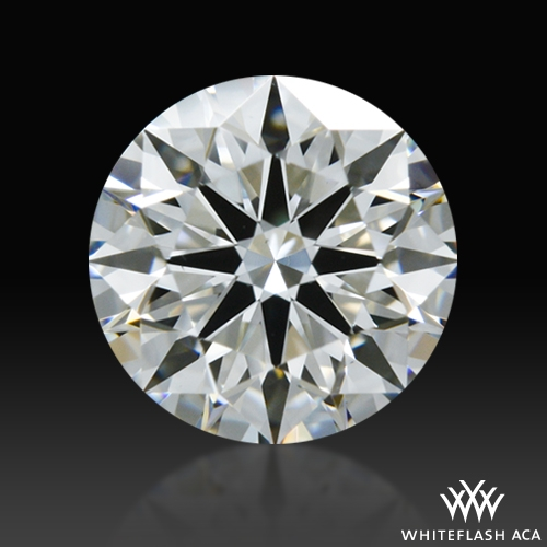 0.731 ct G VS1 A CUT ABOVE® Hearts and Arrows Super Ideal Round Cut Loose Diamond