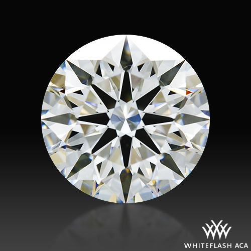 1.133 ct F VS1 A CUT ABOVE® Hearts and Arrows Super Ideal Round Cut Loose Diamond