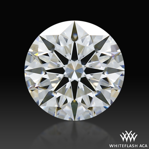 1.053 ct D VS1 A CUT ABOVE® Hearts and Arrows Super Ideal Round Cut Loose Diamond