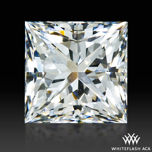 0.656 ct F VVS2 A CUT ABOVE® Princess Super Ideal Cut Diamond