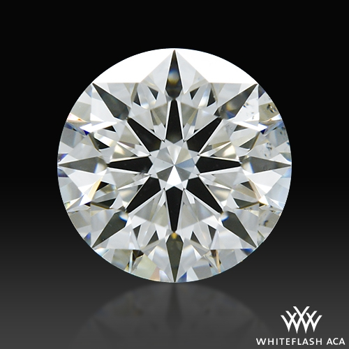 0.706 ct I SI1 A CUT ABOVE® Hearts and Arrows Super Ideal Round Cut Loose Diamond
