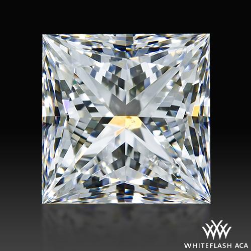 0.908 ct G SI1 A CUT ABOVE® Princess Super Ideal Cut Diamond