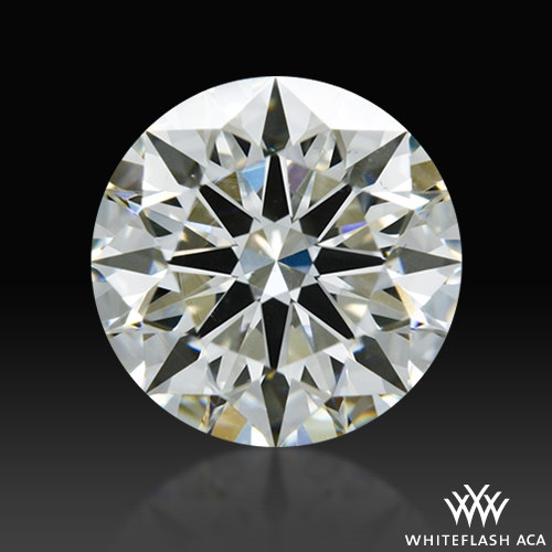 1.228 ct J SI1 A CUT ABOVE® Hearts and Arrows Super Ideal Round Cut Loose Diamond