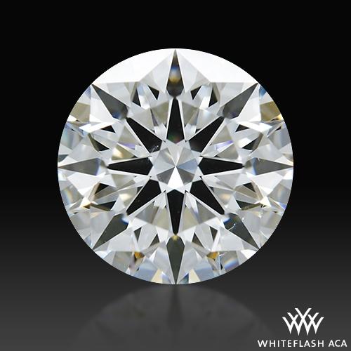 1.025 ct E SI1 A CUT ABOVE® Hearts and Arrows Super Ideal Round Cut Loose Diamond