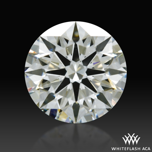 1.304 ct J VS2 A CUT ABOVE® Hearts and Arrows Super Ideal Round Cut Loose Diamond