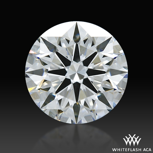 0.744 ct D VS2 A CUT ABOVE® Hearts and Arrows Super Ideal Round Cut Loose Diamond