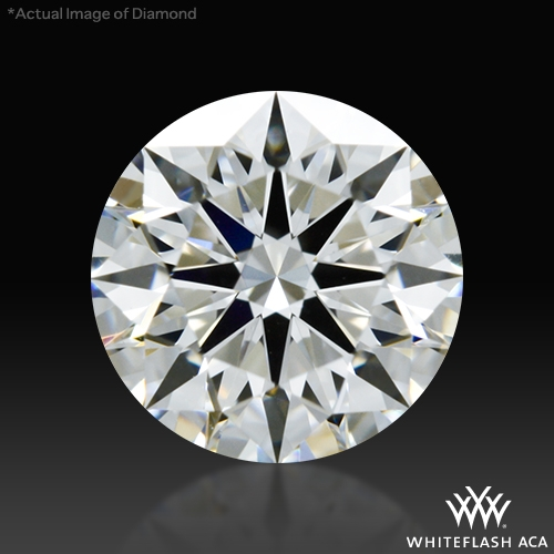 0.724 ct G VS2 A CUT ABOVE® Hearts and Arrows Super Ideal Round Cut Loose Diamond