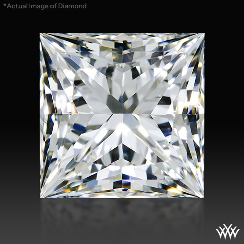 0.948 ct H VVS2 A CUT ABOVE® Princess Super Ideal Cut Diamond