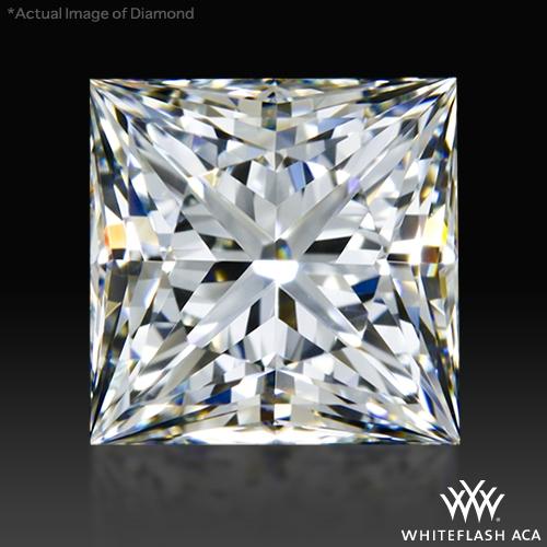 1.261 ct I VS1 A CUT ABOVE® Princess Super Ideal Cut Diamond
