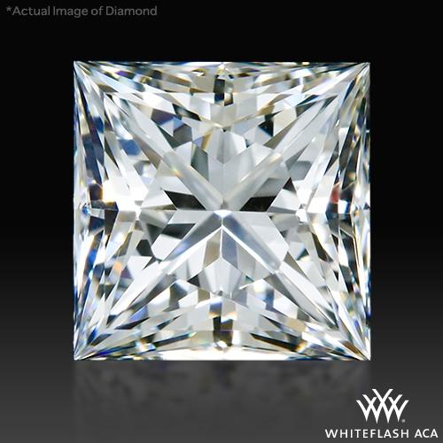 0.844 ct H VS1 A CUT ABOVE® Princess Super Ideal Cut Diamond