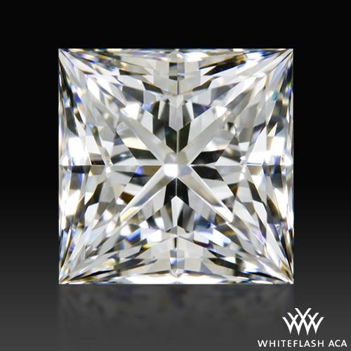 0.846 ct E VS1 A CUT ABOVE® Princess Super Ideal Cut Diamond