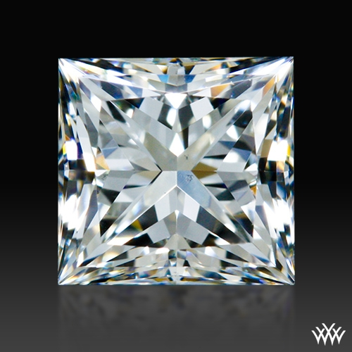 0.701 ct G VS1 A CUT ABOVE® Princess Super Ideal Cut Diamond