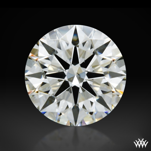 0.316 ct I SI1 A CUT ABOVE® Hearts and Arrows Super Ideal Round Cut Loose Diamond