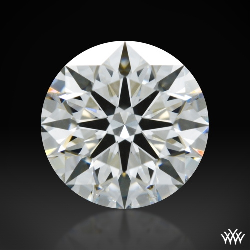 1.135 ct H VS1 A CUT ABOVE® Hearts and Arrows Super Ideal Round Cut Loose Diamond