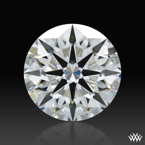 1.218 ct E VS2 A CUT ABOVE® Hearts and Arrows Super Ideal Round Cut Loose Diamond
