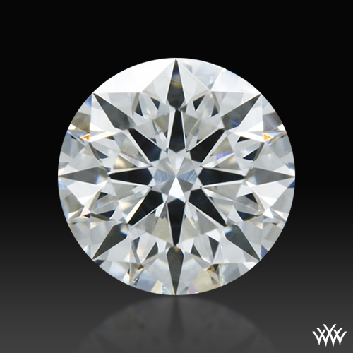 0.532 ct F SI1 A CUT ABOVE® Hearts and Arrows Super Ideal Round Cut Loose Diamond
