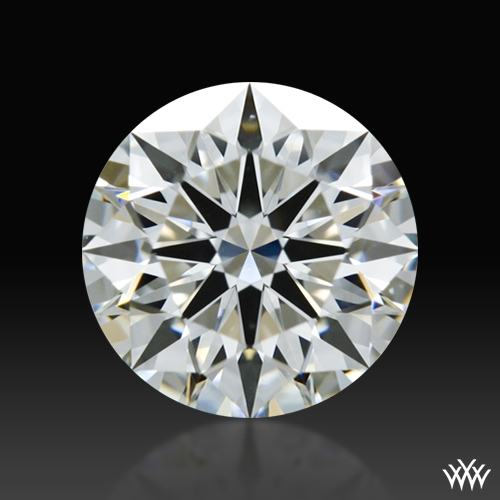 0.935 ct H VS1 A CUT ABOVE® Hearts and Arrows Super Ideal Round Cut Loose Diamond