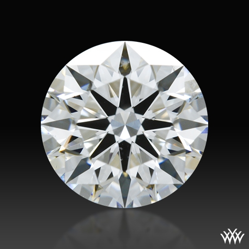 0.86 ct F SI1 A CUT ABOVE® Hearts and Arrows Super Ideal Round Cut Loose Diamond