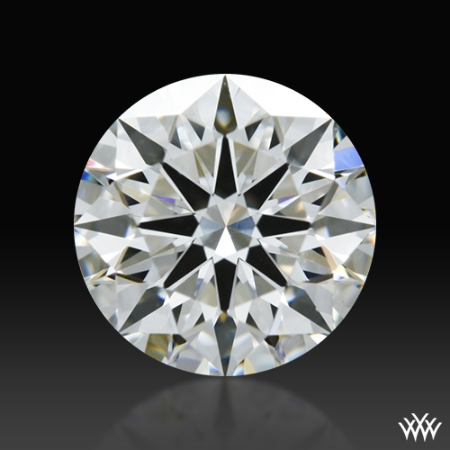 0.708 ct H VS2 A CUT ABOVE® Hearts and Arrows Super Ideal Round Cut Loose Diamond