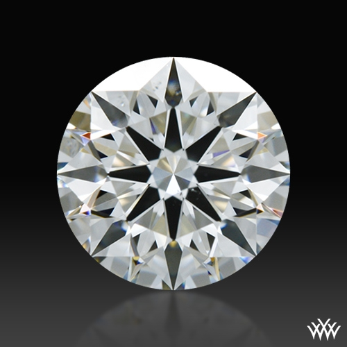 0.833 ct G SI1 A CUT ABOVE® Hearts and Arrows Super Ideal Round Cut Loose Diamond