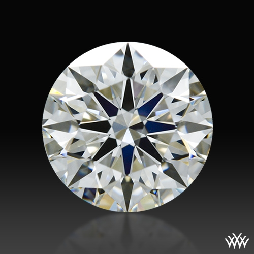 0.834 ct H VS1 A CUT ABOVE® Hearts and Arrows Super Ideal Round Cut Loose Diamond