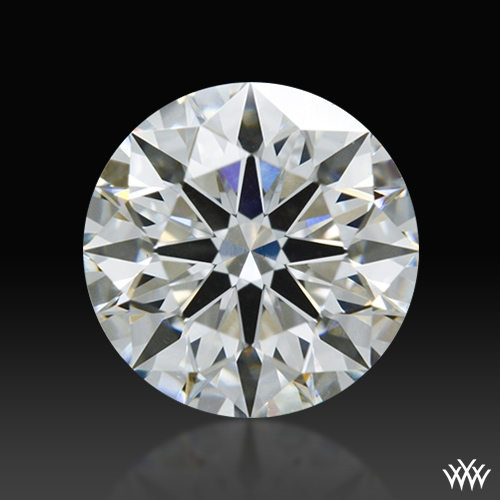 0.848 ct G VS2 A CUT ABOVE® Hearts and Arrows Super Ideal Round Cut Loose Diamond