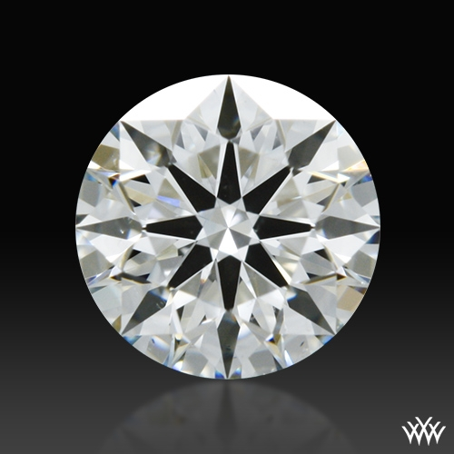 0.403 ct I SI1 A CUT ABOVE® Hearts and Arrows Super Ideal Round Cut Loose Diamond