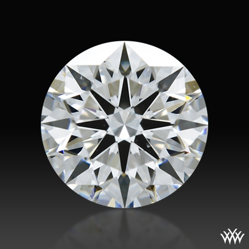 0.828 ct D VS2 A CUT ABOVE® Hearts and Arrows Super Ideal Round Cut Loose Diamond