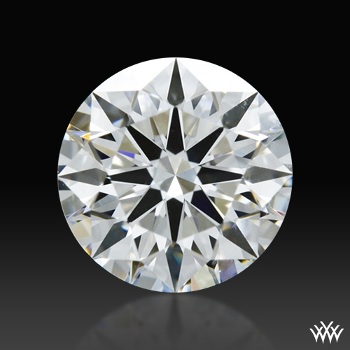0.883 ct G VS1 A CUT ABOVE® Hearts and Arrows Super Ideal Round Cut Loose Diamond