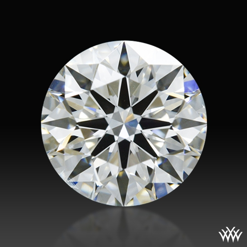 0.701 ct H SI1 A CUT ABOVE® Hearts and Arrows Super Ideal Round Cut Loose Diamond