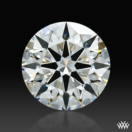 0.91 ct H VS2 A CUT ABOVE® Hearts and Arrows Super Ideal Round Cut Loose Diamond